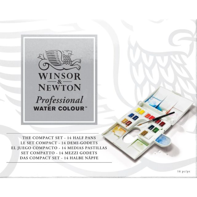 Image of Winsor & Newton Professional Watercolour Compact Set