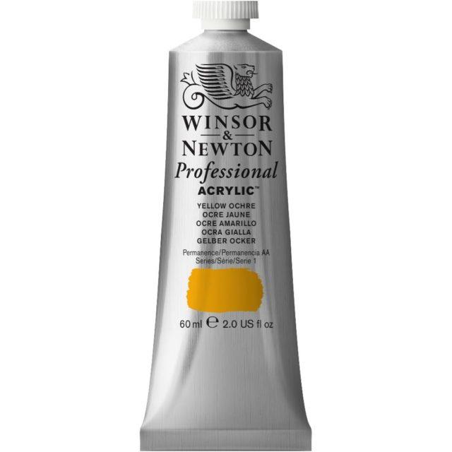 Image of Professional Acrylic - Yellow Ochre, 60ml