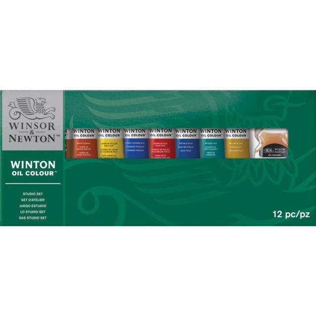 Image of Winsor & Newton Winton Oil Colour Studio Set