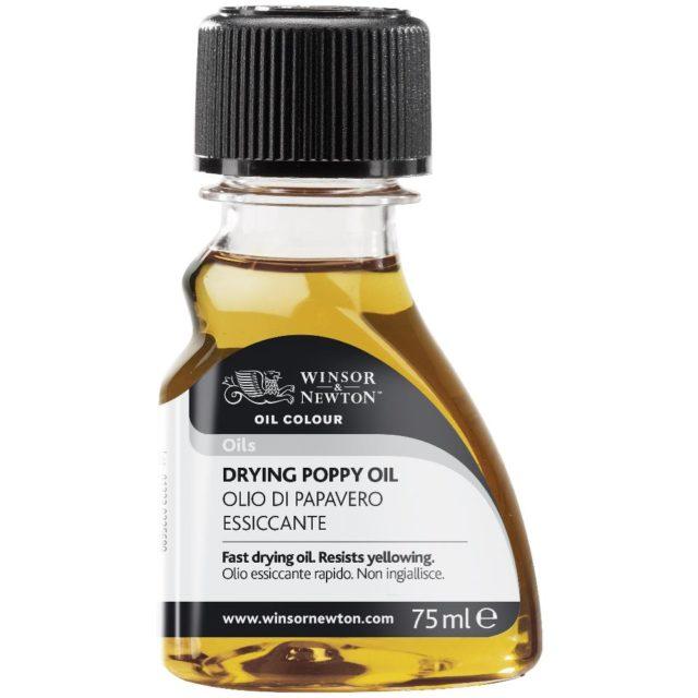 Image of Oils - Winsor & Newton Oil Colour Oil, Drying Poppy Oil, 75ml
