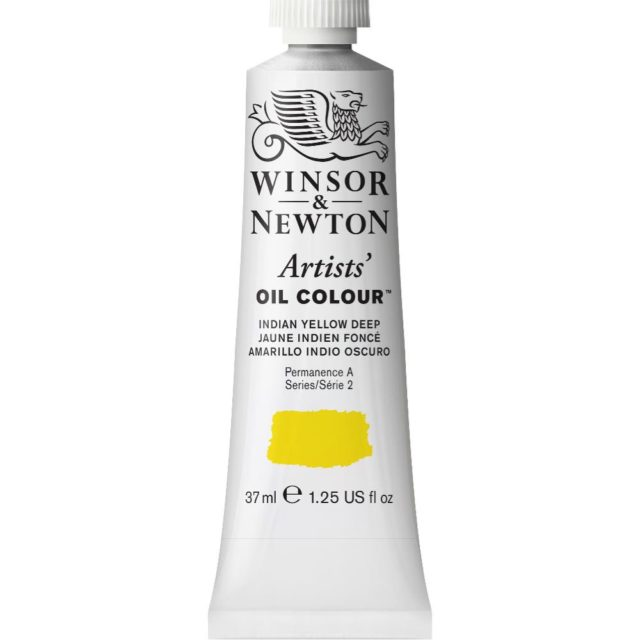 Image of Artists' Oil Colour - Indian Yellow Deep, 37ml