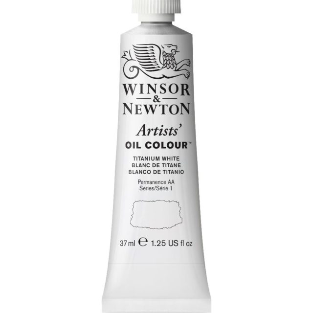 Image of Artists' Oil Colour - Titanium White, 37ml