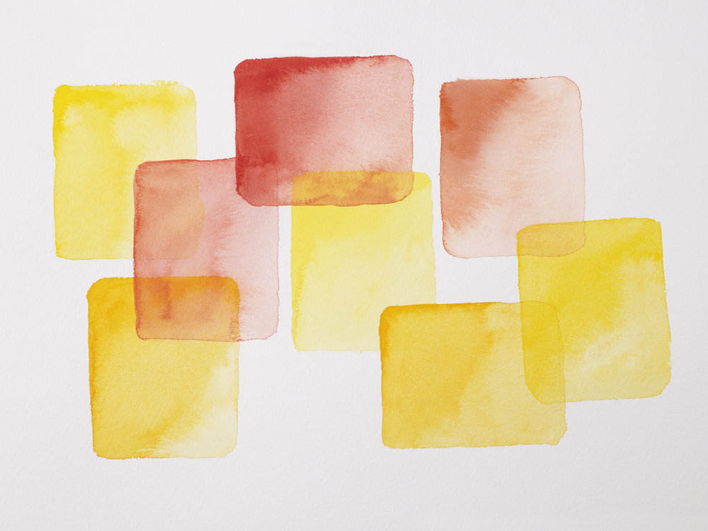 The effects of cadmium free watercolours and Gouache
