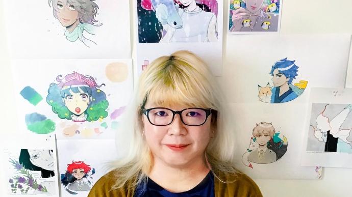 'Self Portrait' by Chie Kutsuwada
