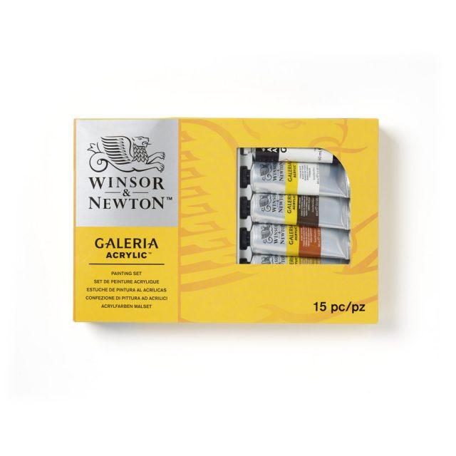 Image of Winsor & Newton Galeria Acrylic Galeria Complete Set