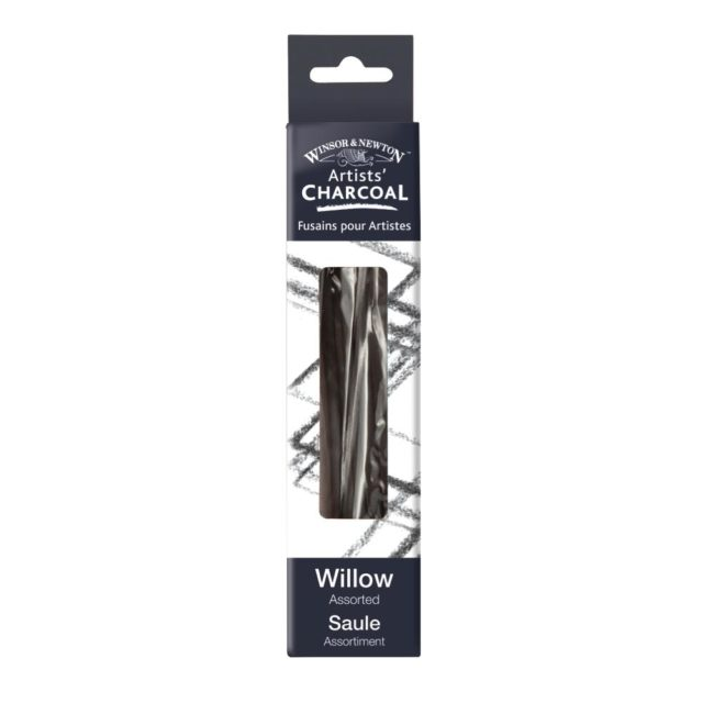 Image of Winsor & Newton Artists' Willow Charcoal - Assorted