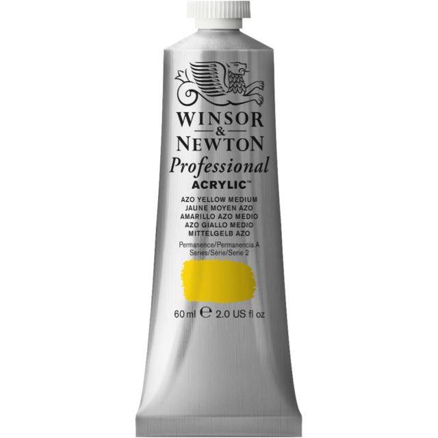 Image of Professional Acrylic - Azo Yellow Medium, 60ml