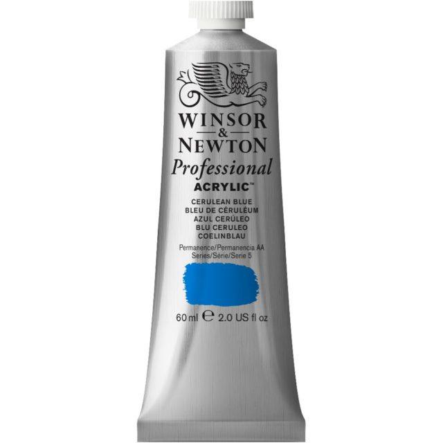 Image of Professional Acrylic - Cerulean Blue, 60ml