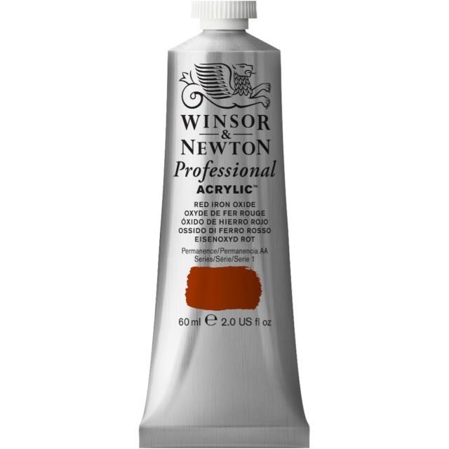 Image of Professional Acrylic - Red Iron Oxide, 60ml