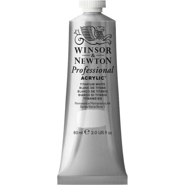 Image of Professional Acrylic - Titanium White, 60ml