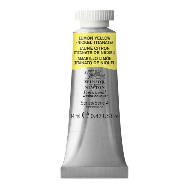 Image of Professional Watercolour - Lemon Yellow (Nickel Titanate), 14ml