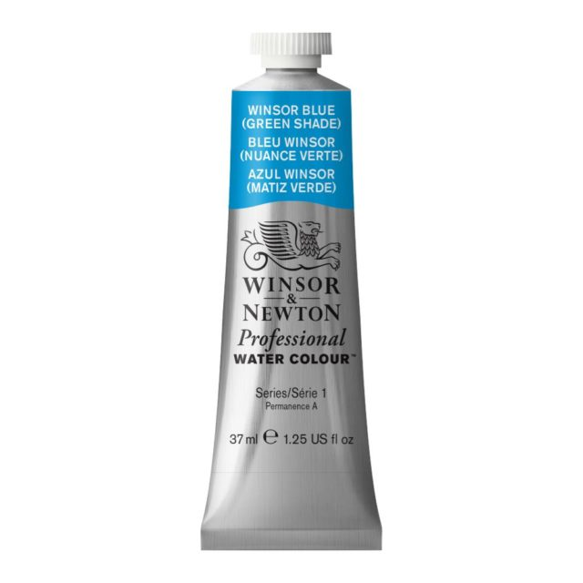 Image of Professional Watercolour - Winsor Blue (Green Shade), 37ml