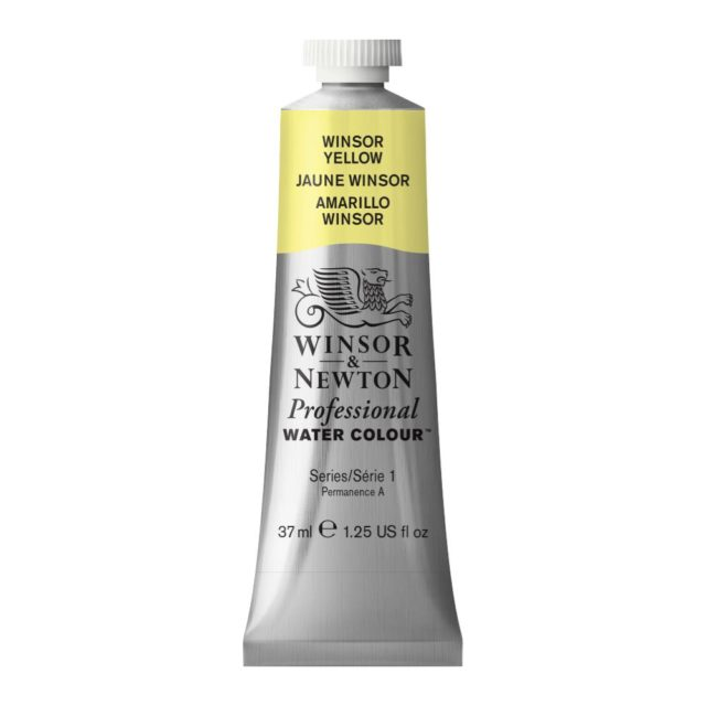 Image of Professional Watercolour - Winsor Yellow, 37ml