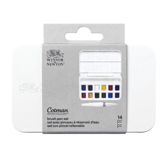 Image of Winsor & Newton Cotman Brush Pen Set