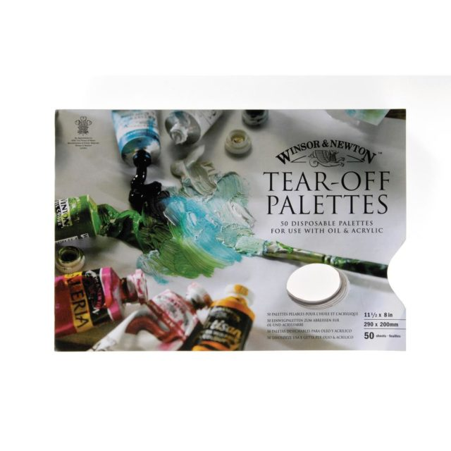 Image of Winsor & Newton Palette - Tear-Off Palette 29x20cm