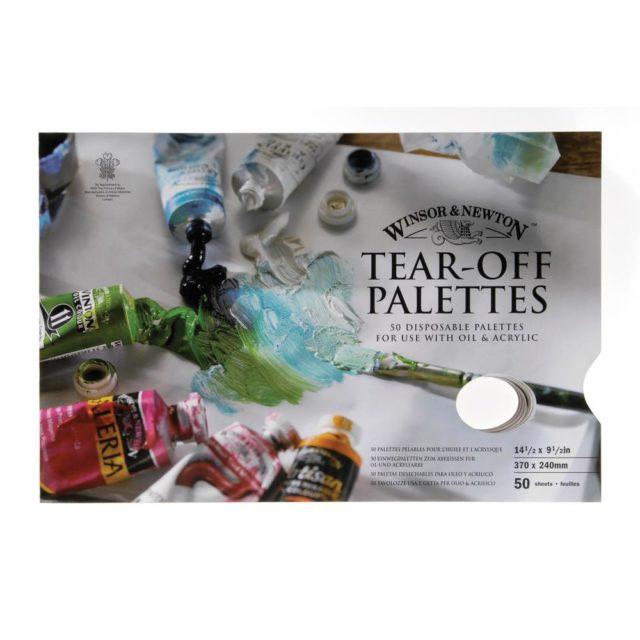 Image of Winsor & Newton Palette - Tear-Off Palette 37x24cm