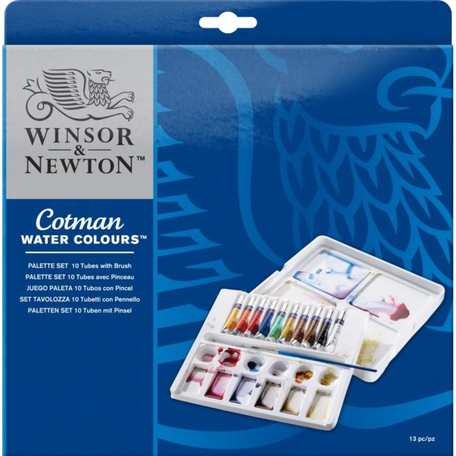 Image of Winsor & Newton Cotman Watercolours Palette Set