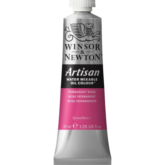 Image of Artisan Water Mixable Oil Colour - Permanent Rose, 37ml