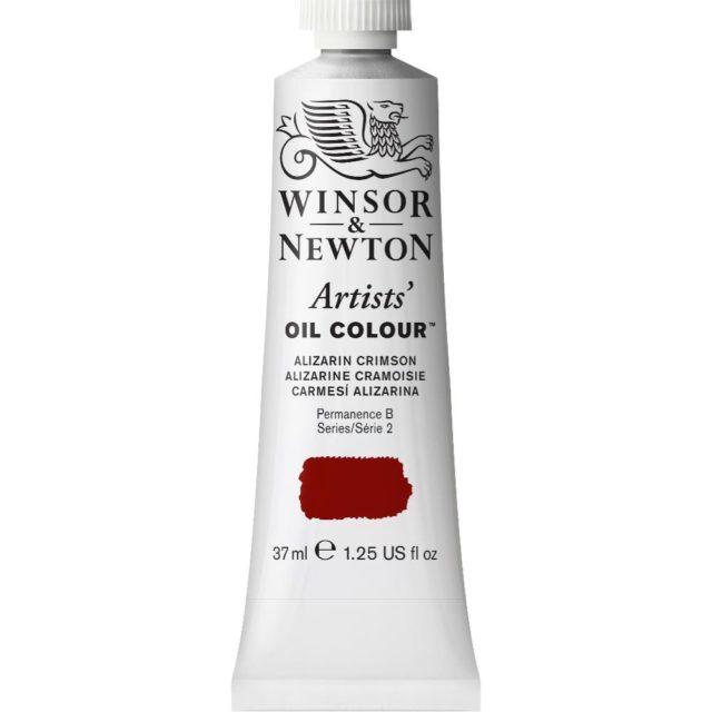 Image of Artists' Oil Colour - Alizarin Crimson, 37ml