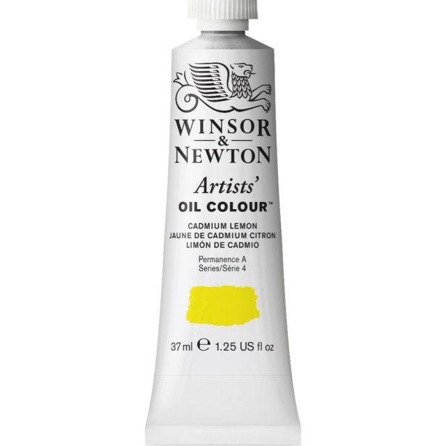 Image of Artists' Oil Colour - Cadmium Lemon, 37ml