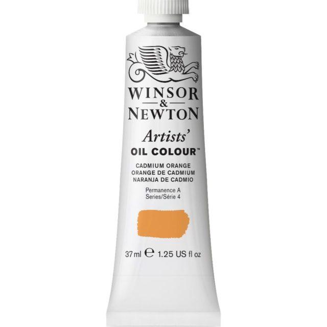 Image of Artists' Oil Colour - Cadmium Orange, 37ml