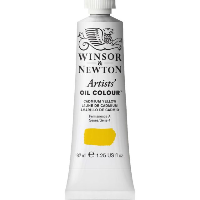 Image of Artists' Oil Colour - Cadmium Yellow, 37ml