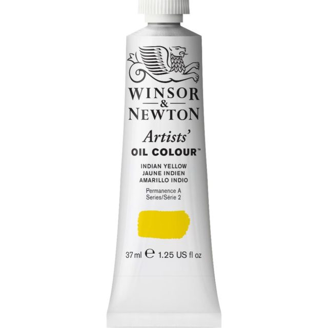 Image of Artists' Oil Colour - Indian Yellow, 37ml