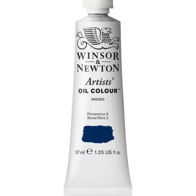 Image of Artists' Oil Colour - Indigo, 37ml