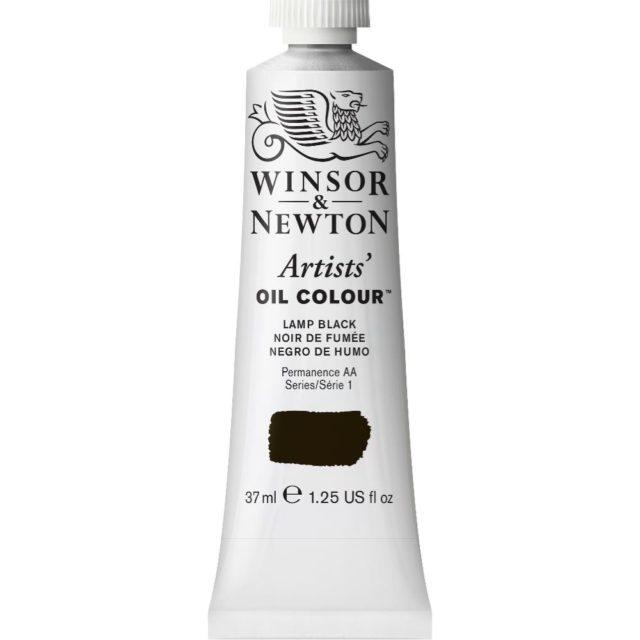 Image of Artists' Oil Colour - Lamp Black, 37ml