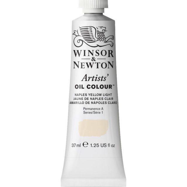 Image of Artists' Oil Colour - Naples Yellow Light, 37ml
