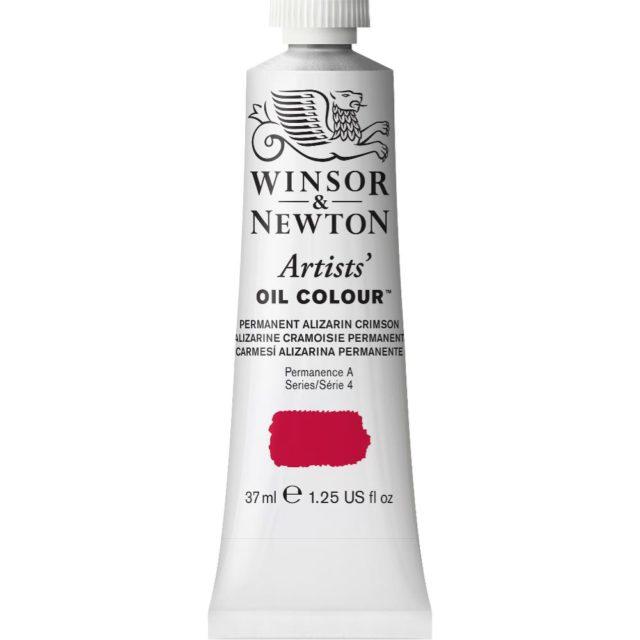 Image of Artists' Oil Colour - Permanent Alizarin Crimson, 37ml