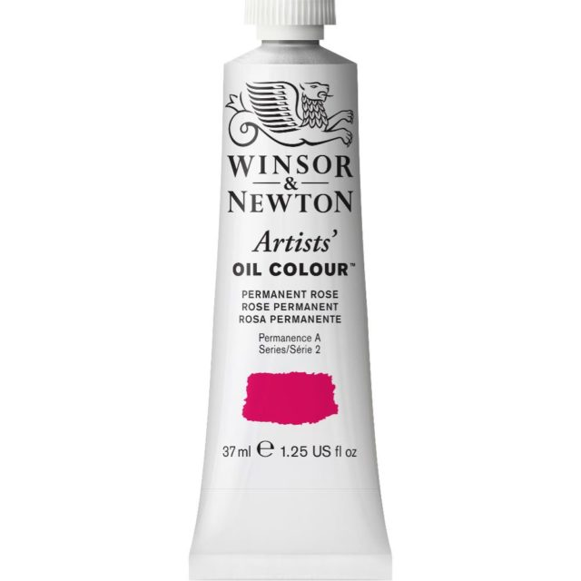 Image of Artists' Oil Colour - Permanent Rose, 37ml