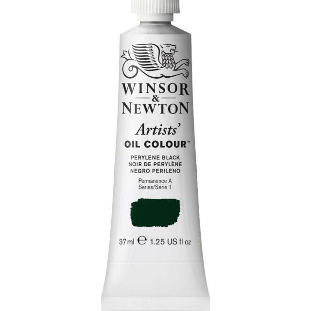 Image of Artists' Oil Colour - Perylene Black, 37ml