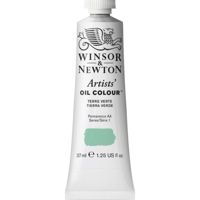 Image of Artists' Oil Colour - Terre Verte, 37ml