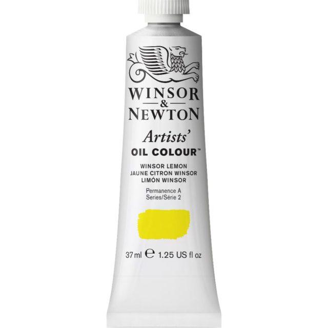 Image of Artists' Oil Colour - Winsor Lemon, 37ml