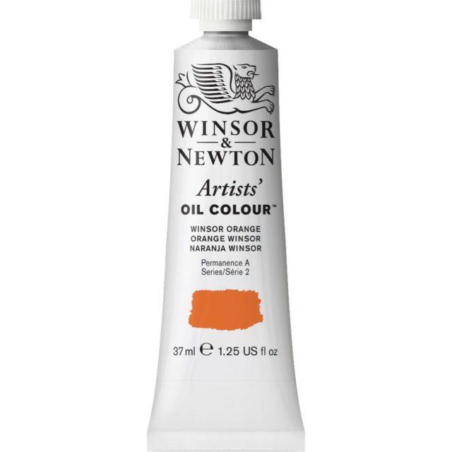 Image of Artists' Oil Colour - Winsor Orange, 37ml