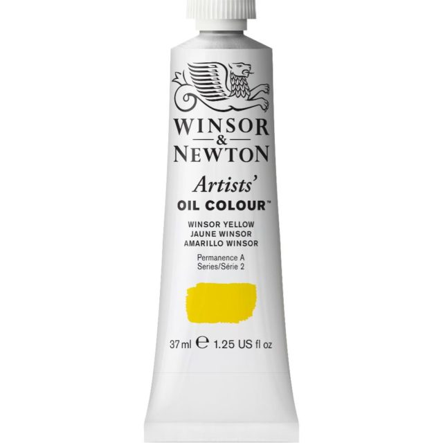 Image of Artists' Oil Colour - Winsor Yellow, 37ml