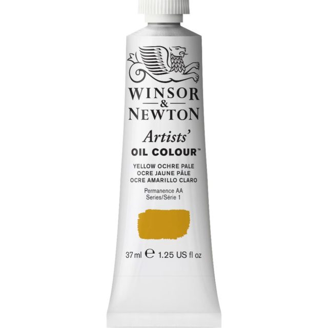 Image of Artists' Oil Colour - Yellow Ochre Pale, 37ml