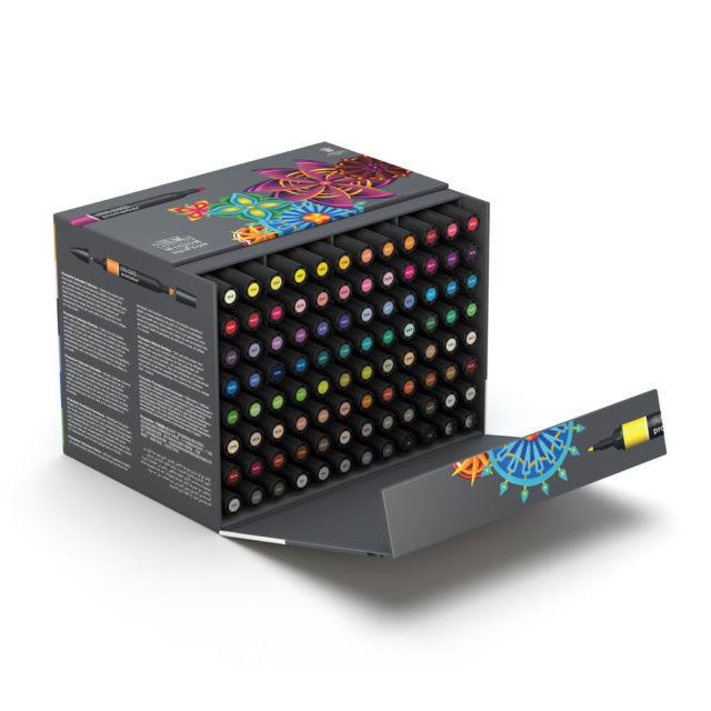 Image of Promarker Set - Winsor & Newton Promarker 96 PC Superbig Box Set, Set