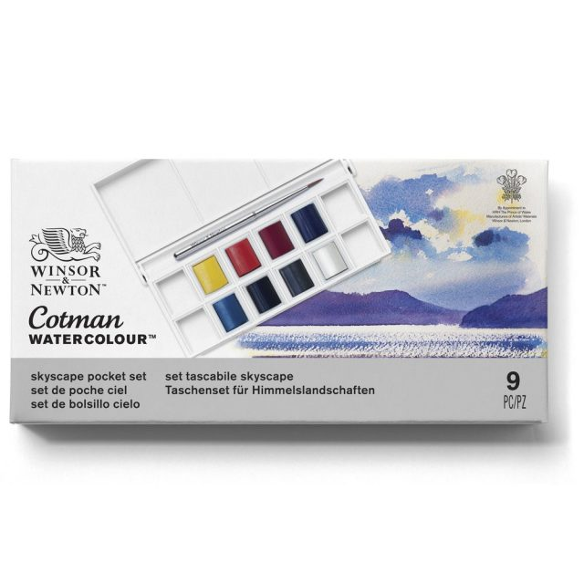 Image of Winsor & Newton Cotman Watercolour Skyscape Pocket Set