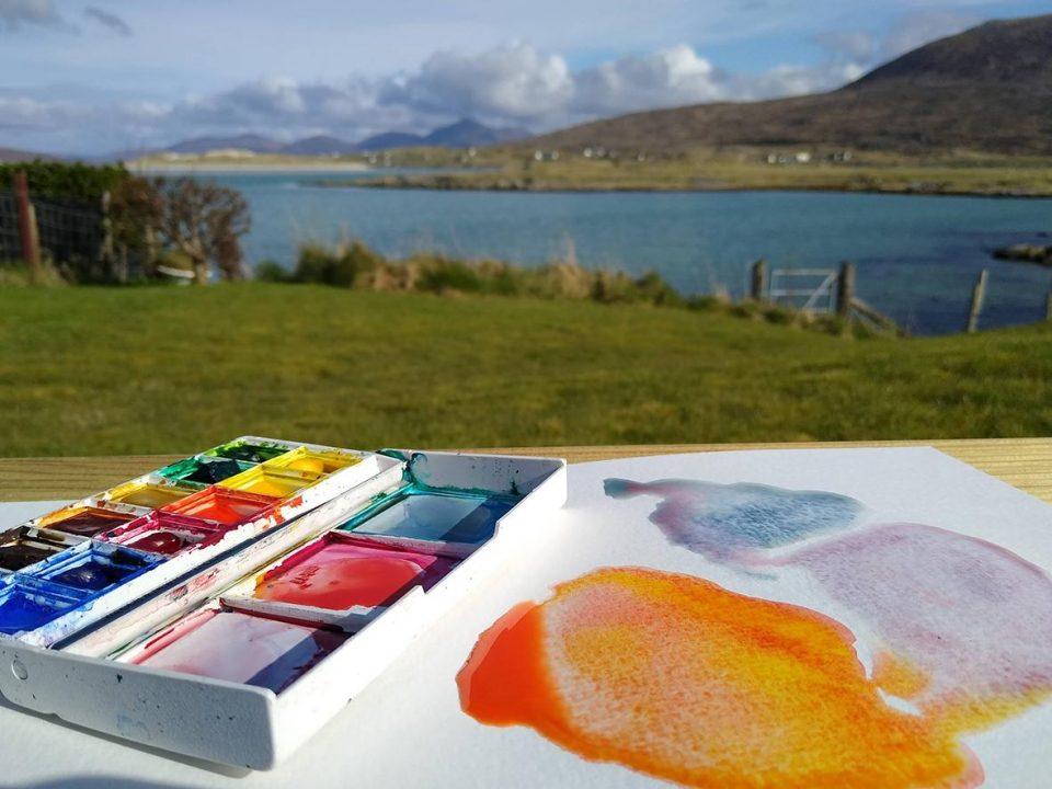 Liz Elton on using Cotman Watercolours