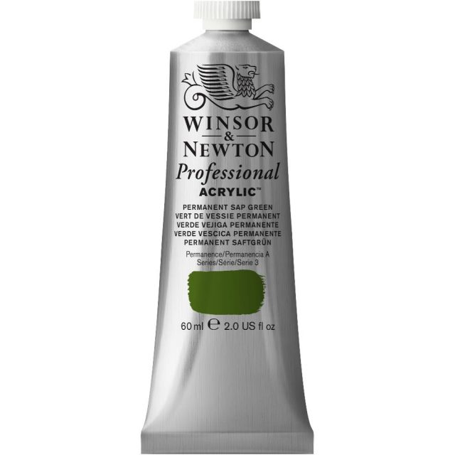 Image of Professional Acrylic - Permanent Sap Green, 60ml