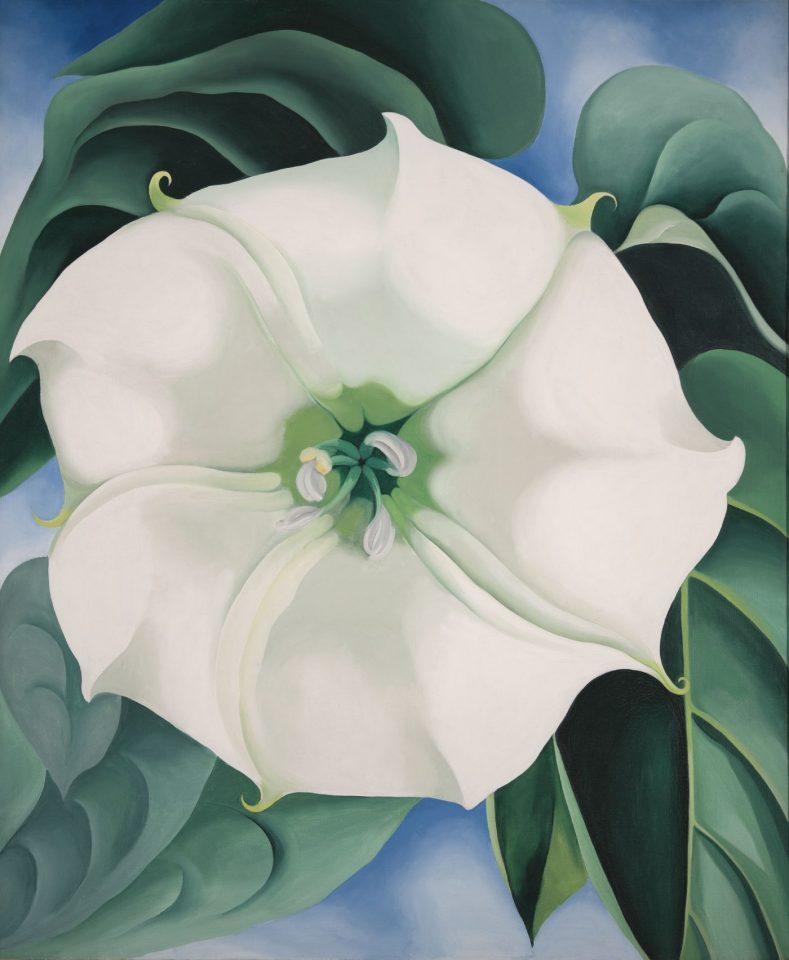 Georgia O'Keeffe, 'Jimson Weed/White Flower No. 1