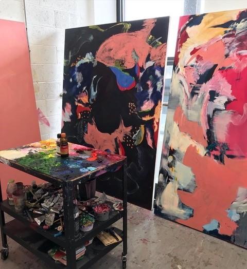 Michaela Yearwood-Dan's studio