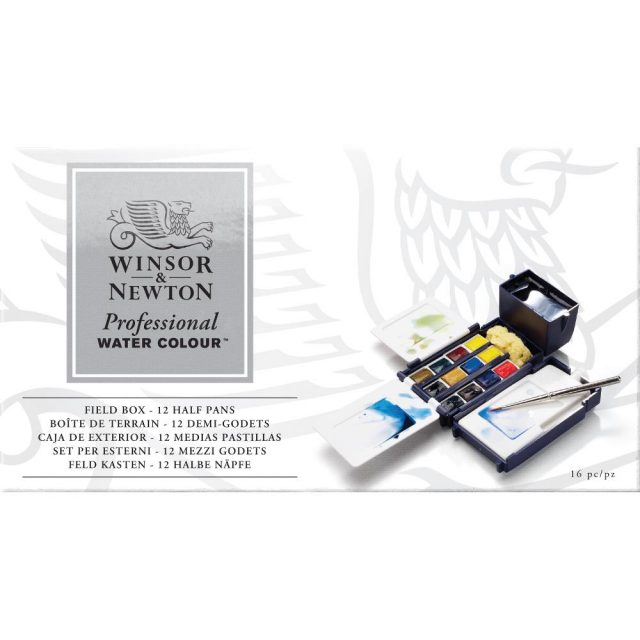 Image of Winsor & Newton Professional Watercolour Field Box
