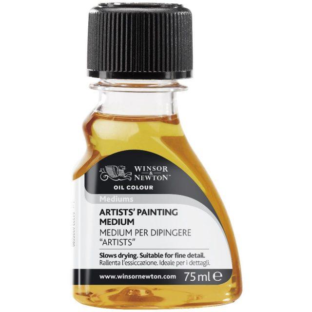 Image of Mediums - Winsor & Newton Oil Colour Artists' Medium, Artists' Painting Medium, 75ml