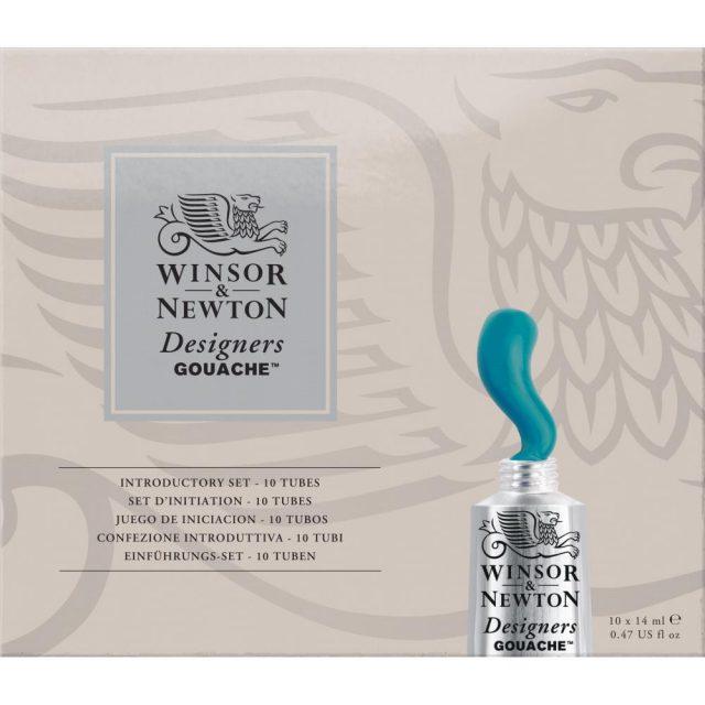 Image of Winsor & Newton Designers Gouache Introductory Set