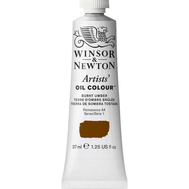 Image of Artists' Oil Colour - Burnt Umber, 37ml