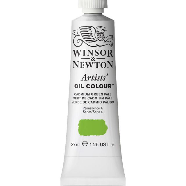 Image of Artists' Oil Colour - Cadmium Green Pale, 37ml