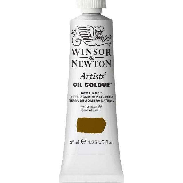 Image of Artists' Oil Colour - Raw Umber, 37ml